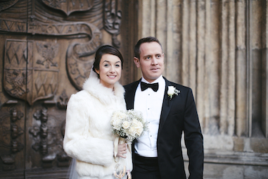 Jennifer and Christian - Bath Abbey and The Roman Baths