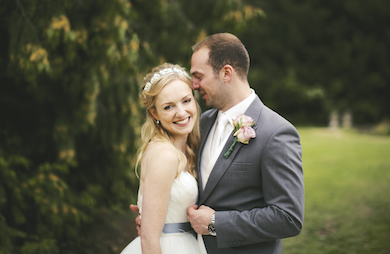 Chris and Lucy - Orchardleigh House